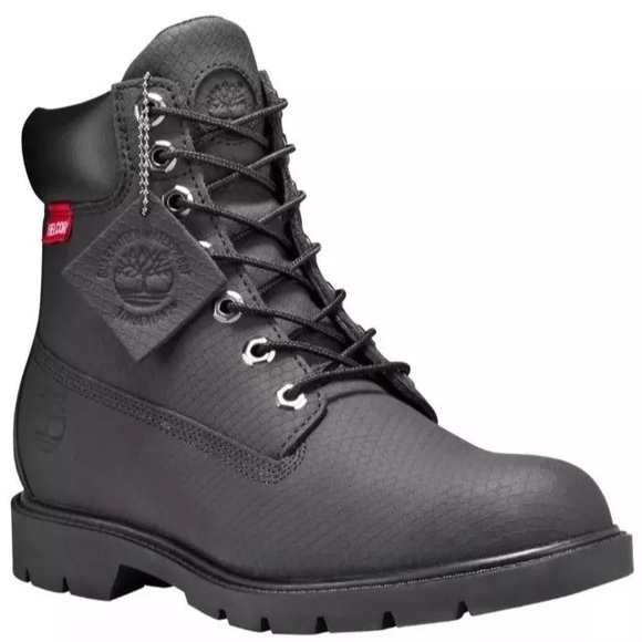 MEN'S 6 INCH HELCOR LEATHER BASIC WATERPROOF BOOTS NWT